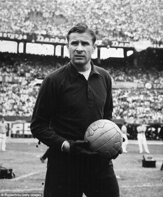 Black Spider: The Russian goalkeeper Lev Yashin is regarded as the greatest keeper of all time