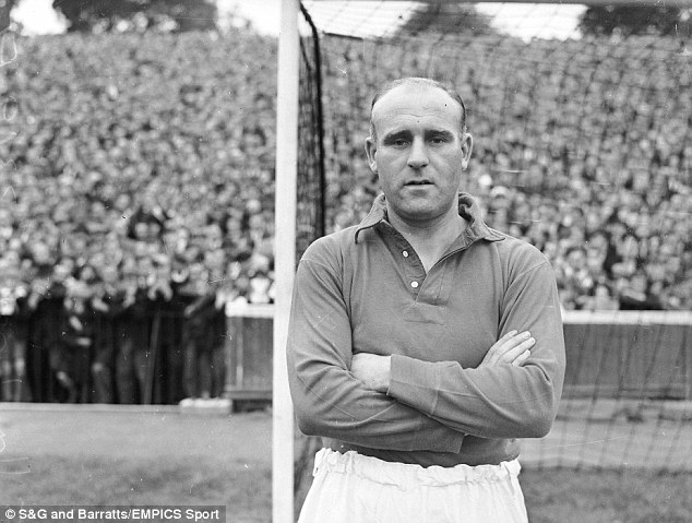 Integral: Welshman Ray Lambert played for Liverpool in the late 1940s and early 1950s