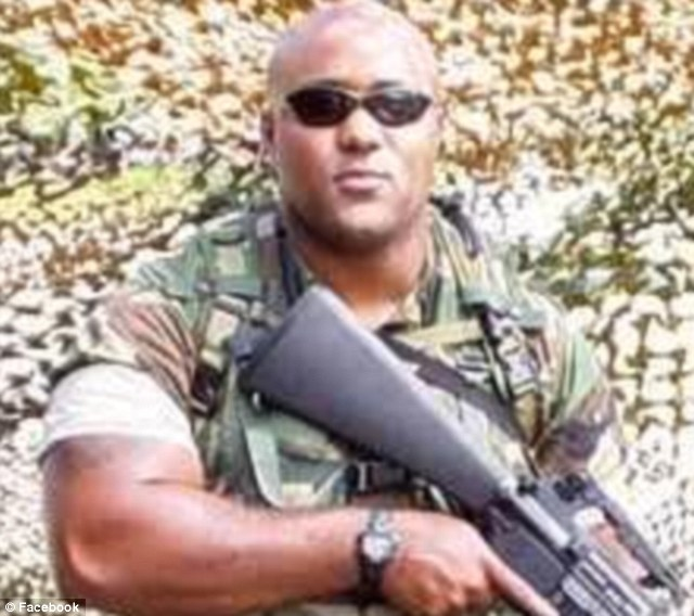 Revenge: Dorner, also a former Naval reservist, is suspected of shooting three police officers, one fatally early Thursday after the cops tried to apprehend him