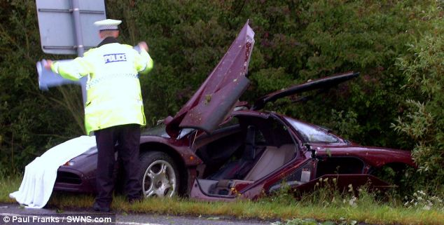 Atkinson escaped the crash with a shoulder injury but the £910,000 repair bill was painful for the actor's insurers