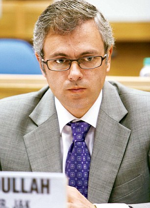 On a serious note: Jammu and Kashmir Chief Minister Omar Abdullah is happy with police action.