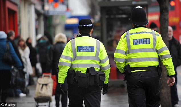 Blending in: Now that the Old Bill have also embraced hi-viz uniforms, it's virtually impossible to tell them apart from parking wardens and PCSOs