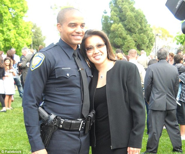 Murdered: Monica Quan (right) and her fiance Keith Lawrence (left) were shot to death in their car outside their home in Irvine. Miss Quan was the daughter of the LAPD police captain who represented Dorner when he was fired