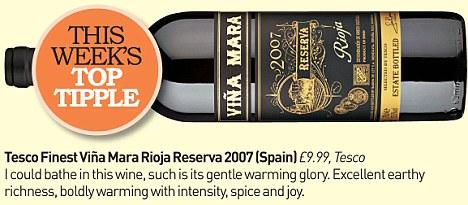 Tesco Finest Vina Mara Rioja Reserva 2007 (Spain)