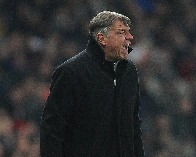 Sam Allardyce has expressed his opinion in no uncertain terms about United's advantage