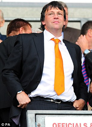 Search goes on: Blackpool chairman Karl Oyston
