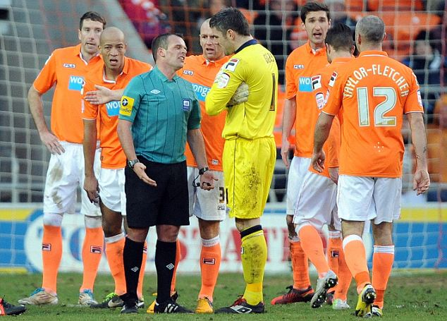 Managerless: Blackpool's players are still awaiting news of who their next manager will beManagerless: Blackpool's players are still awaiting news of who their next manager will be