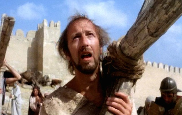 The 'quiet' Python: Graham Chapman, who played Brian in Monty Python's Life Of Brian, pictured, had a television persona as a repressed Englishman