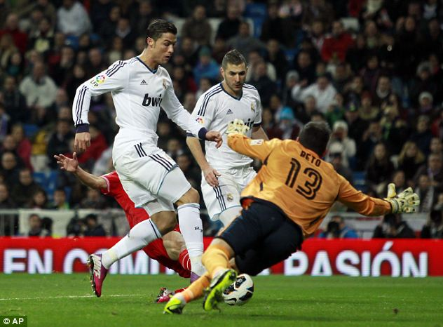 Three and easy: Ronaldo completes his hat-trick