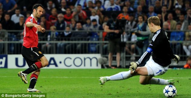 2010/2011: Scoring for United against Schalke en route to another Champions League final