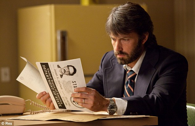 Double trouble: Affleck both starred in and directed the thriller Argo