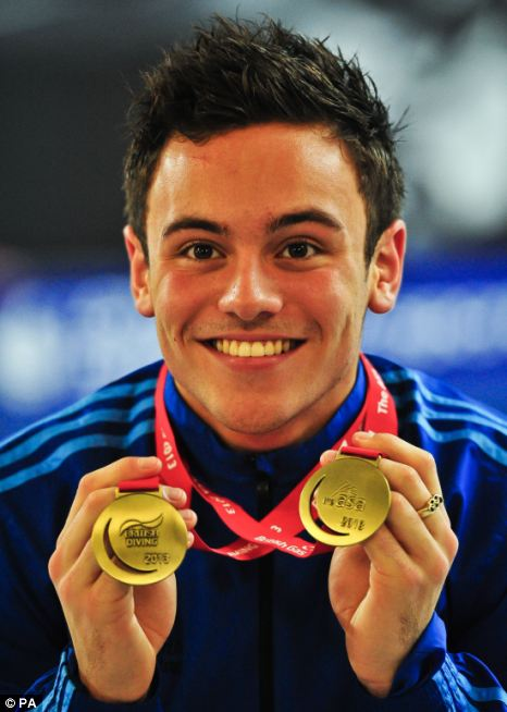 On the title trail: Daley will attempt to regain a world title at the British Gas Diving Championships