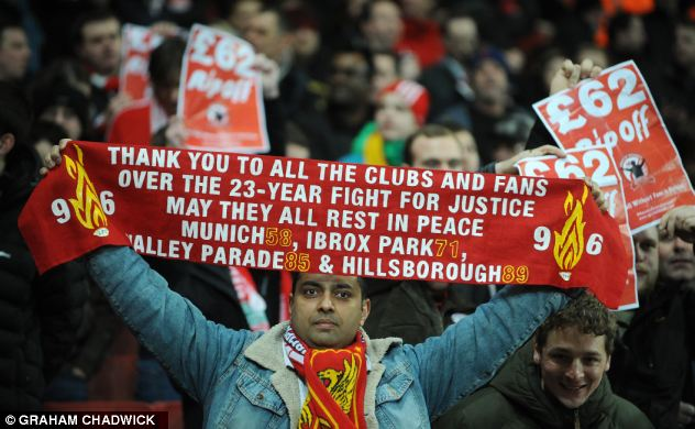 Justice: Under the new powers information revealed by the recent Hillsborough inquiry could have remained concealed by the authorities