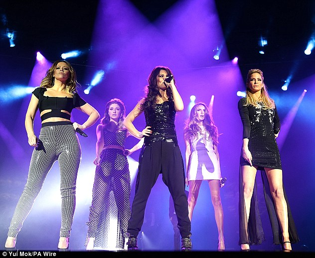 Reunited: The girls, who released their anniversary album last year, are gearing up for their eagerly-anticipated tour