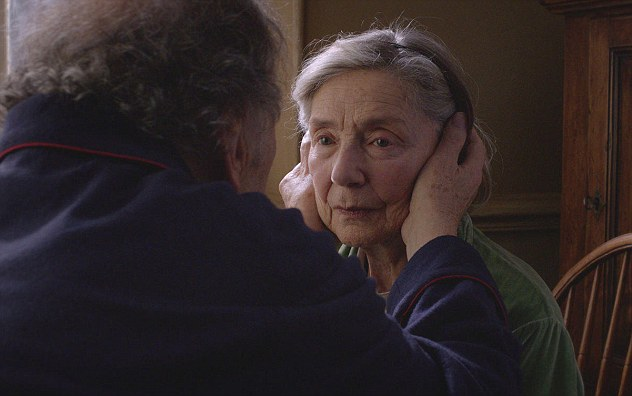 Beating the competition: Emmanuelle Riva was crowned Best Actress for Amour
