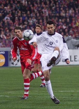 Ryan Giggs vs Bayern Munich