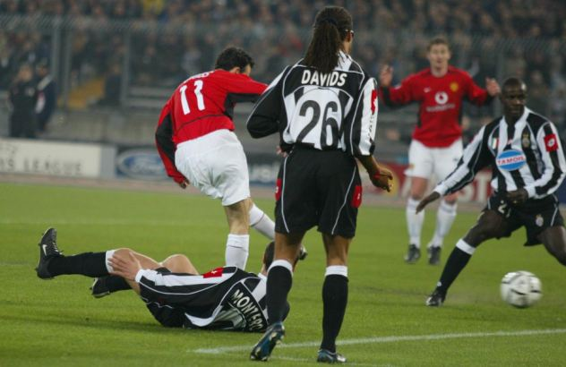 2002/2003: Among Europe's best en route to victory over Juventus