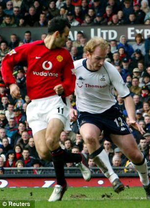 Ryan Giggs vs Tottenham