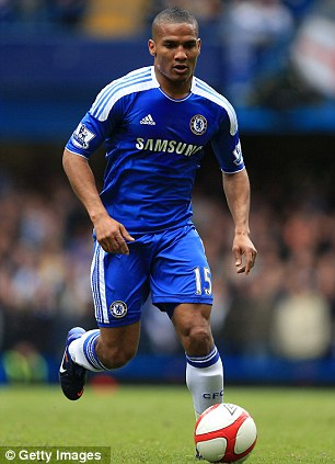 Not happy: Florent Malouda has hit out at Chelsea