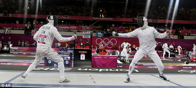 Modern Pentathlon is also one of the sports thought to be at risk