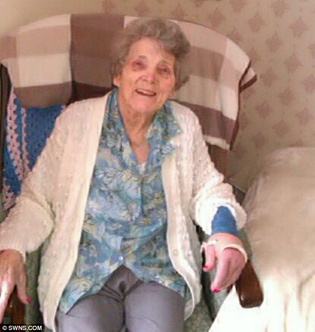 The late Elizabeth Cope, 91, whose possessions were thrown away by care home staff after her death