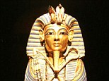 Tutankhamun found - and look how slim he is!