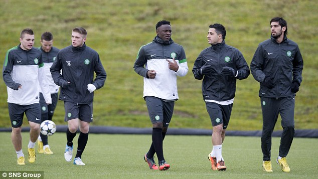 Up against: Celtic face a tough task but have already beaten Barcelona at home this season
