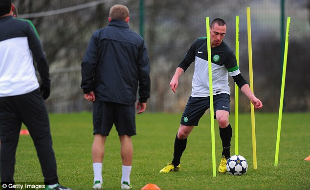 Tricks of the trade: Brown hopes to stop Pirlo from performing at his best at Celtic Park