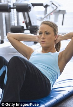 Some people find bench presses, pull-ups or press-ups can trigger muscle twitching
