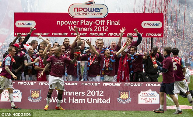 Fireworks party: The Championship play-off final is a great occasion and could be replicated in the Premier League