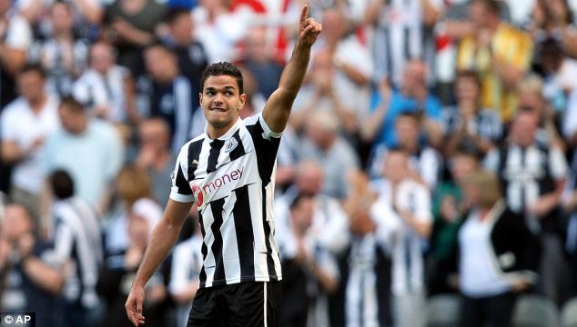 Recovered: But Hatem Ben Arfa is unlikely to be risked