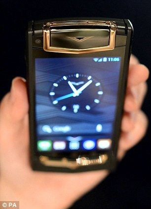 Exclusive: The phone includes a 'concierge' button, linking owners with their personal operator