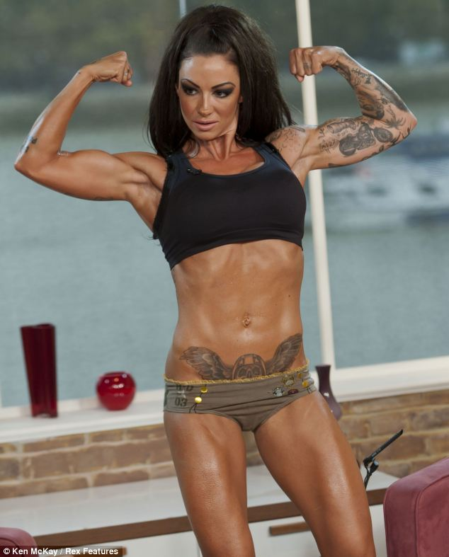 Former model turned bodybuilder Jodie Marsh has launched a slimming pill called Semtex