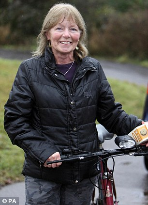 Long battle: Former school dinner lady Carol Hill has won the right to compensation two years after winning a claim for wrongful dismissal