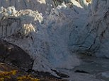 Epic glacier collapse video: