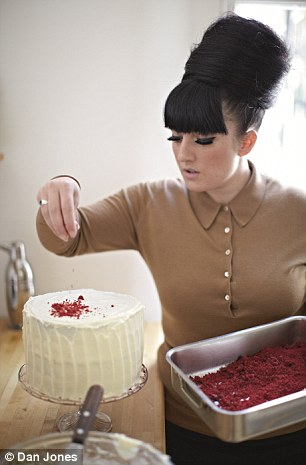 Stacie Stewart ¿ the beehived baking sensation of Simon Cowell¿s TV show Food Glorious Food