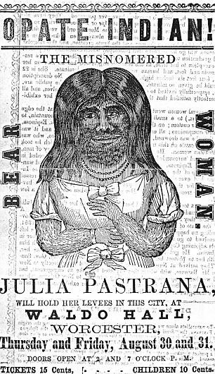Julia Pastrana, world's ugliest woman