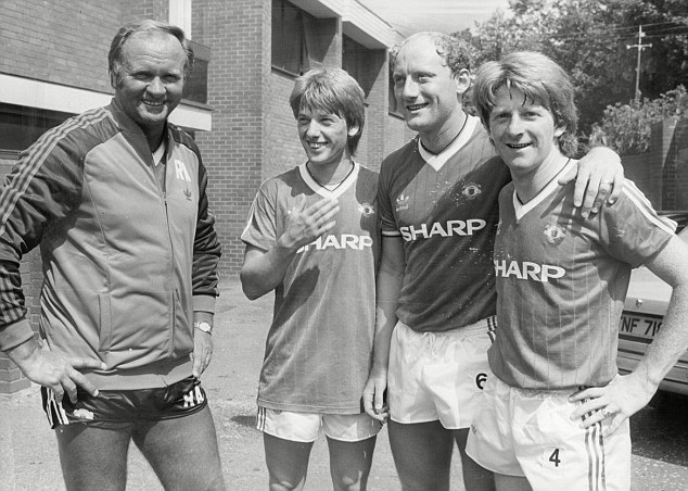 Remember me? Ferguson replaced Ron Atkinson at United in November 1986