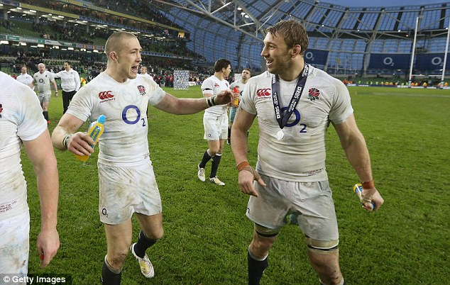 Flying start: England have won their opening matches in the Six Nations against Ireland and Scotland