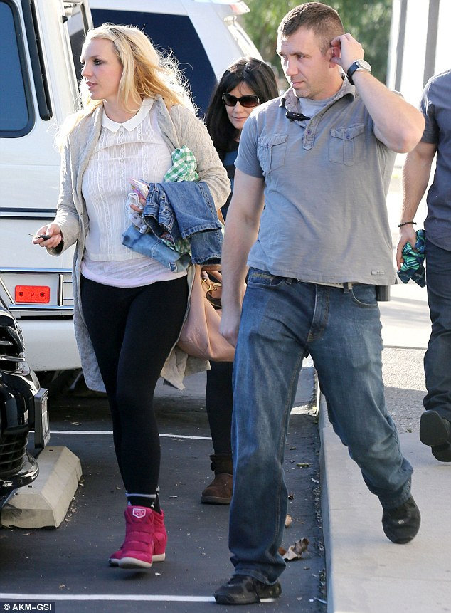 All the generations: Britney and Lynn were both there to take their boys to class