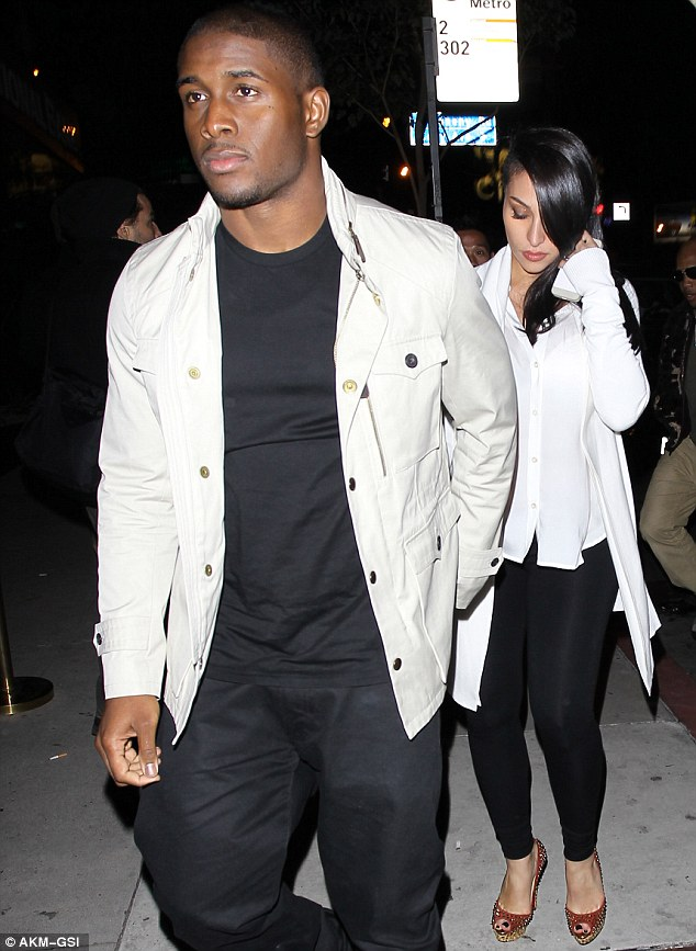 Parents-to-be: Reggie announced his girlfriend was pregnant back in October