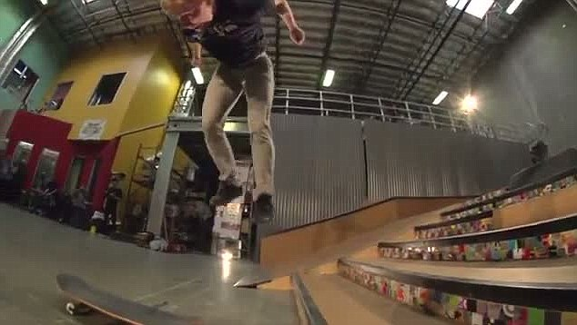 Miller is known in the skateboarding community for his creative tricks but is relatively unknown to outsiders