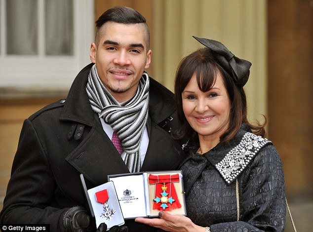 All that jazz! Former Strictly Come Dancing stars Louis Smith and Arlene Phillips were honoured by the Queen on Wednesday morning at Buckingham Palace