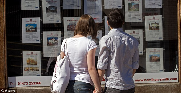 High demand: Two-thirds of people now rent through a letting agent