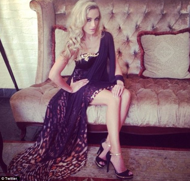 Model: Reeva Steenkamp had been seeing Oscar since November but had forged her own successful career in South Africa