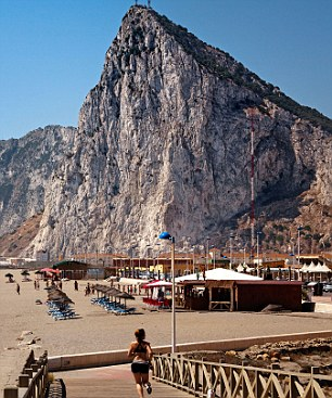 Fraud alert: Cold-callers may offer to transfer your pension to an overseas scheme in tax havens such as Gibraltar (pictured).