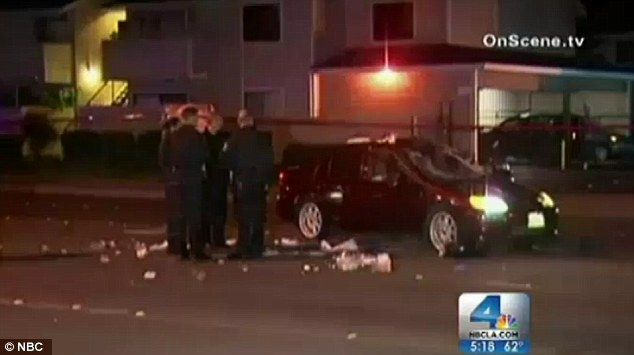 Anthony Lewis Sanchez allegedly did not even slow down as he drove straight into the three women on Saturday evening