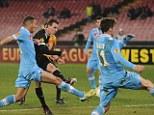 Viktoria Plzen beat Napoli in the Europa League