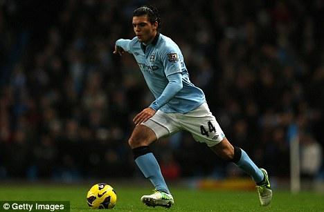 Moving on: Karim Rekik has joined Blackburn on loan from Manchester City