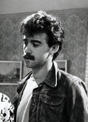 Early years: Le Vell in an episode of Coronation Street from 1987